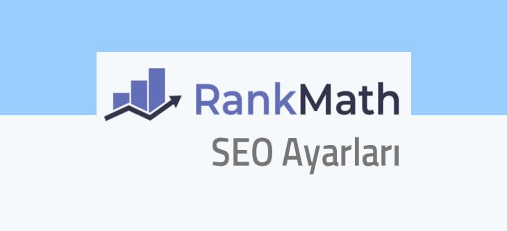 RankMath Seo Ayarları